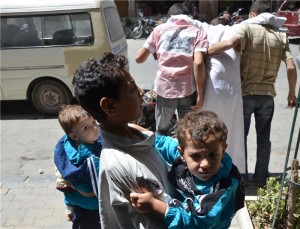 , War Child in Syria